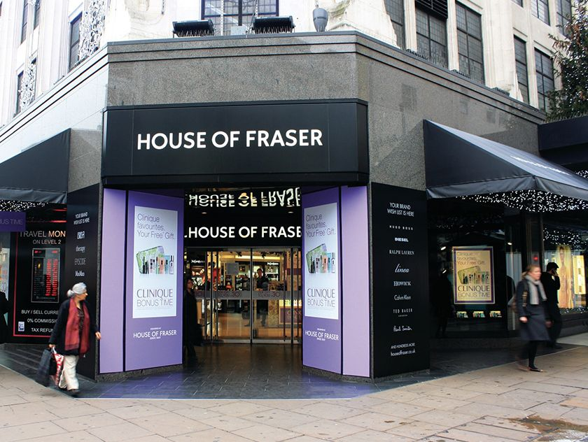 No last-gasp reprieve for county's House of Fraser stores